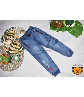 Joggery jeans  SPORTS 98 - 152cm