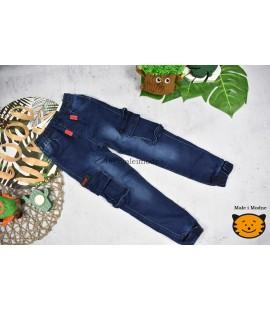 Joggery jeans  BOJÓWKI 98 - 152cm