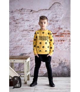 Bluza HAPPY  żółta 92-98/128-134cm