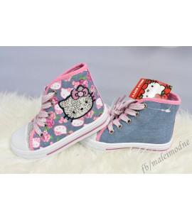 Trampki wysokie Hello Kitty r. 24 - 27