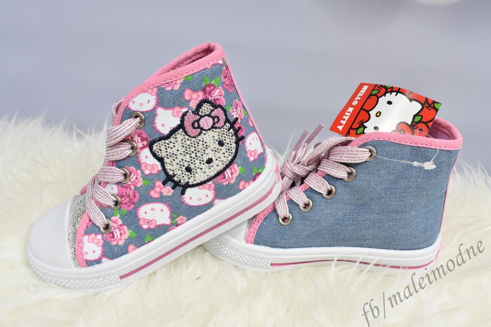 Trampki wysokie Hello Kitty r. 24 27