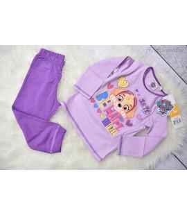 Piżamka dziewczęca  Psi Patrol (Patrol Paw)  - fioletowa