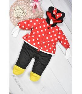 Kombinezon niemowlęcy zimowy Myszka Minnie 62-68cm