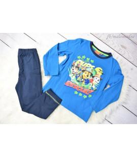 Piżama chłopięca Psi Patrol (Patrol Paw) - niebiesko-granatowa