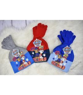 Czapka+rękawiczki Psi Patrol 52-54