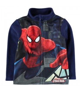 Bluza  rozpinana polarowa Spiderman - 98 - 116cm