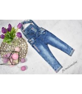 Ogrodniczki jeans LAMPAS - 98 - 152cm