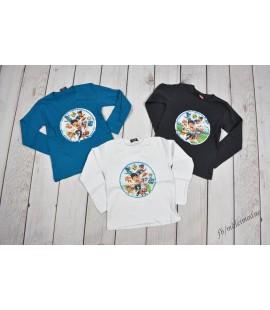 T-shirt  Psi Patrol obracane CEKINY 104 - 128cm