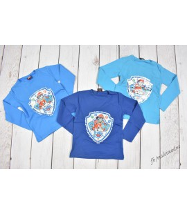 T-shirt (długi rękaw) Psi Patrol obracane CEKINY 104 - 128cm