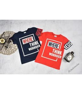 T-shirt NAPISY 122 - 176cm