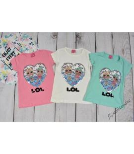 T-shirt LOL SERCE  86 - 128cm