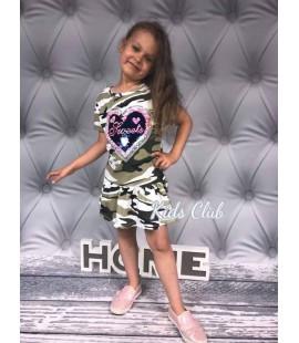 Sukienka MORO z magicznymi cekinami 98 - 164cm