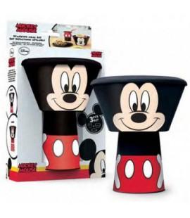 Komplet naczyń plastikowych dla chłopca - Myszka Mickey
