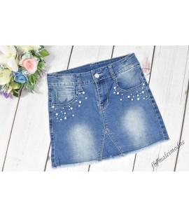 Spódniczja jeans PEREŁKI 98 - 164cm