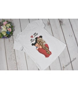 T-shirt Mama i Minnie baby boy  - 104/110cm