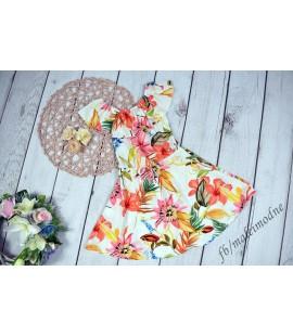 Sukienka Hiszpanka KWIATY 98 - 164cm