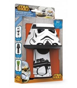Komplet naczyń plastikowych Gwiezdne Wojny Szturmowiec- Star Wars Storm Trooper