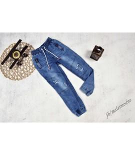 Joggery jeans DZIURY 122-176cm