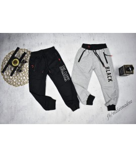 Spodnie BLACK 98 - 164cm