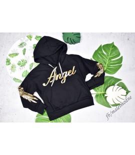 Bluza ANGEL czarna 98 - 164cm