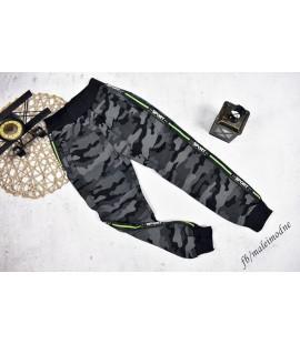 Spodnie ocieplane MORO  GRAFIT 134/140cm
