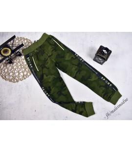 Spodnie ocieplane MORO  ZIELONE 170/176cm
