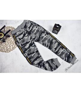 Spodnie ocieplane MORO  SZARE 122 -  176cm