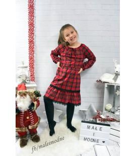 Sukienka KRACIASTE FALBANKI 98  - 164cm