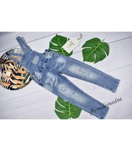 Ogrodniczki jeans RULES ARE BROKEN - 98 - 152cm