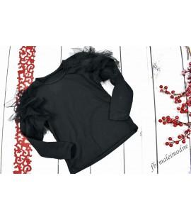 Wizytowa bluzka TIULOWE FALBANKI  98 - 164cm