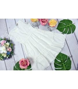 Sukienka koronkowa bawełniana 98  - 164cm