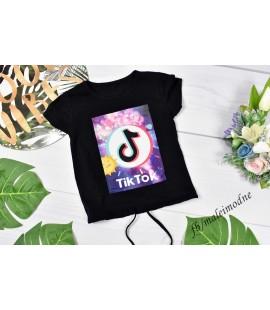T-shirt TIK TOK z troczkiem 98 - 164 cm