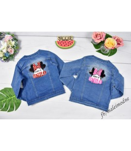 Katanka jeans MINNIE & SMILE  134 - 176cm