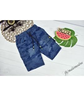 Szorty jeans NIEBIESKIE MORO 122 - 176cm
