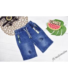 """Szorty jeans z DZIURAMI """"SUPER BOY""""  98 - 152cm"""