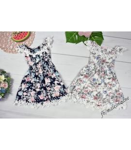 Sukienka Hiszpanka FLOWER  92 - 140cm