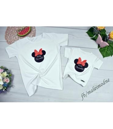 T-shirt Mama i córka LITTLE PRINCESS S-M-L