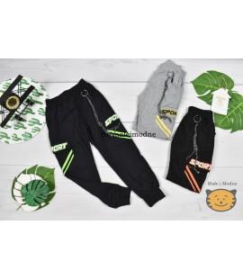 Spodnie SPORTS z łańcuszkiem 98-152cm