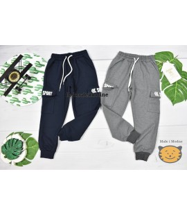 Spodnie bojówki SPORT 110 - 128cm