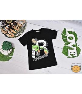 T-shirt  zmieniający się w słońcu OFF ROAD 122 - 176cm